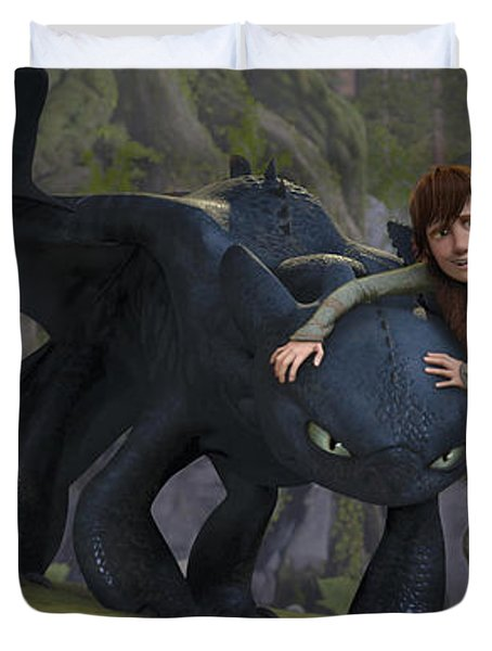 How To Train Your Dragon Duvet Cover