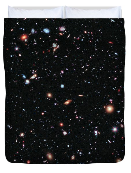Hubble Extreme Deep Field Duvet Cover
