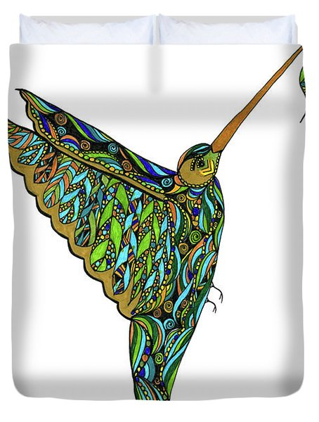 Hummingbird Duvet Cover