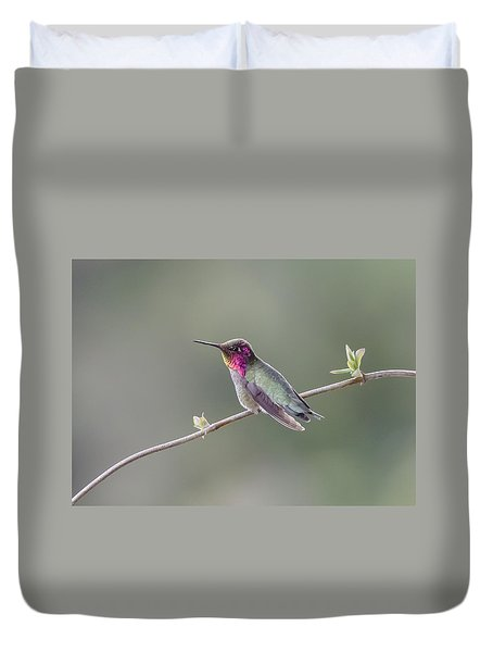 Duvet Cover featuring the photograph Serene by Kathy King