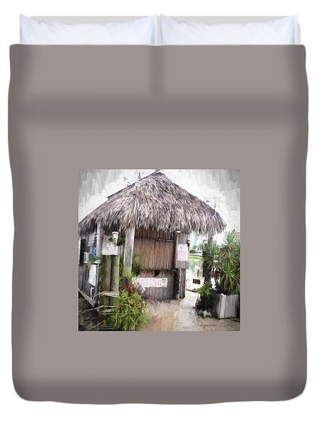 Hut Duvet Cover