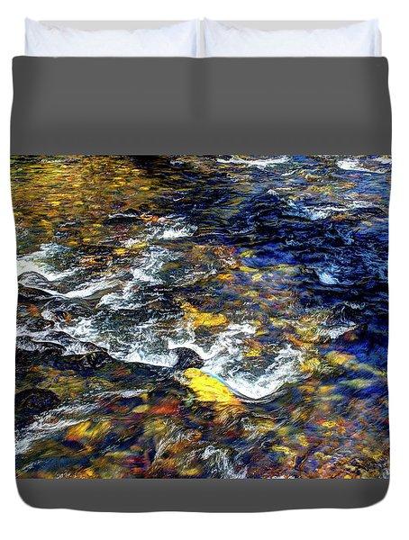 Hyalite Creek Duvet Cover