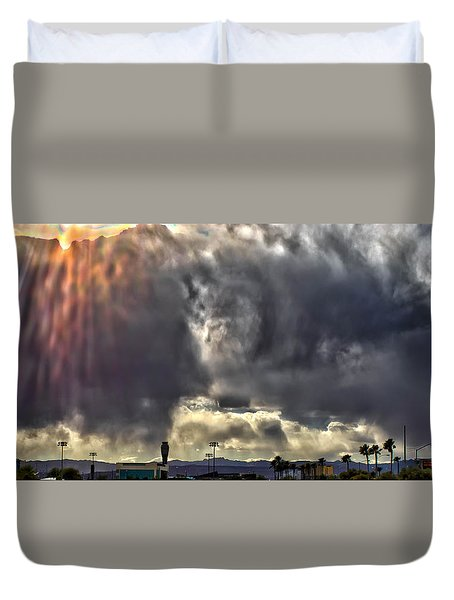I Am That, I Am Duvet Cover by Michael Rogers