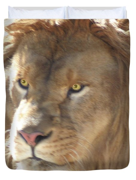 I Am .. The Lion Duvet Cover