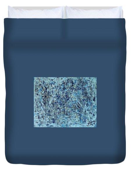 I Love Pollock Duvet Cover