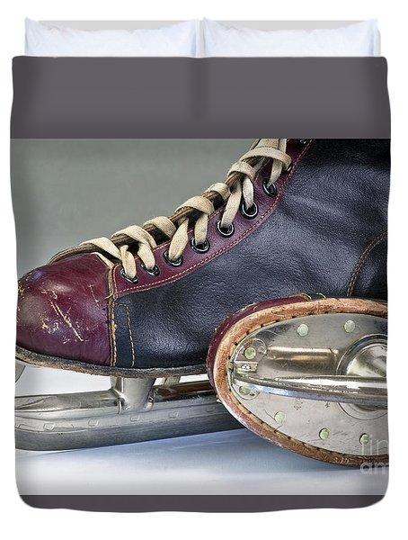 Ice Skates. Duvet Cover