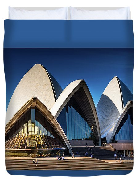 Iconic Sydney Opera House Duvet Cover