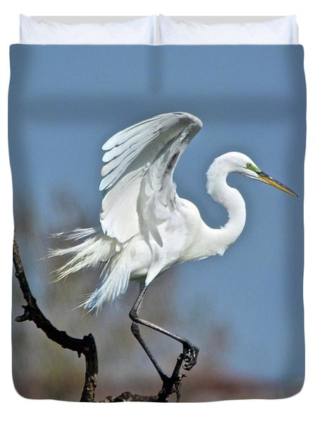 I'll Fly Away Duvet Cover by Carol Bradley