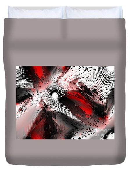 Impossible Dimension Duvet Cover by Yul Olaivar
