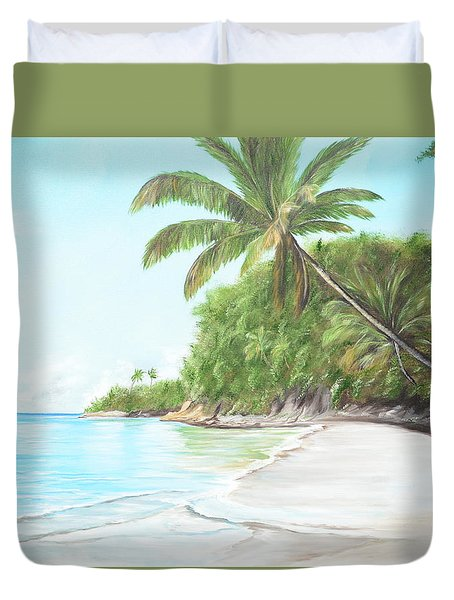In Paradise Duvet Cover