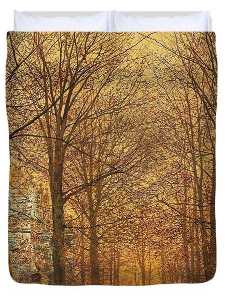 In The Golden Olden Time Duvet Cover