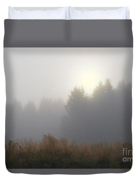 In The Mist Duvet Cover by Yuri Santin