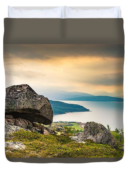 In The North Duvet Cover by Maciej Markiewicz