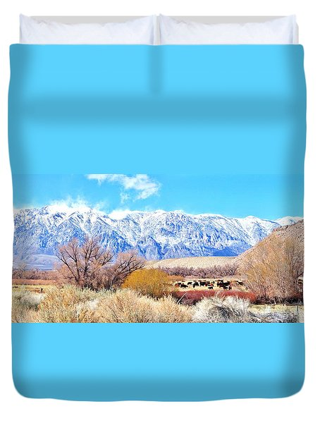 In The Valley Duvet Cover
