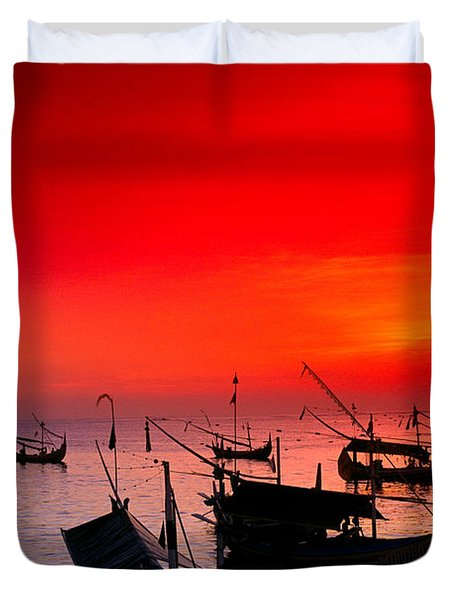 Indonesia, Bali Duvet Cover by Gloria & Richard Maschmeyer - Printscapes