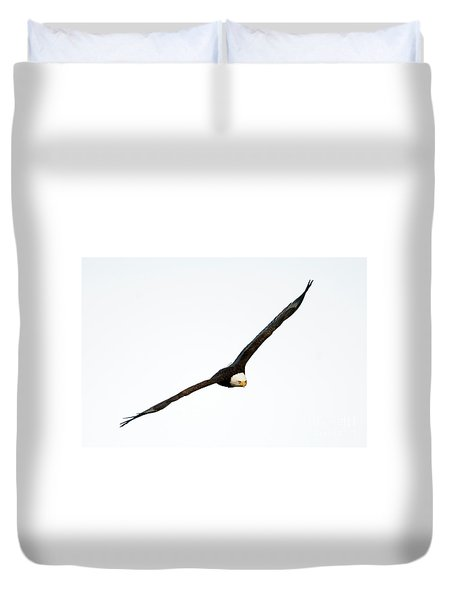 Duvet Cover featuring the photograph Intense Stare by Mike Dawson