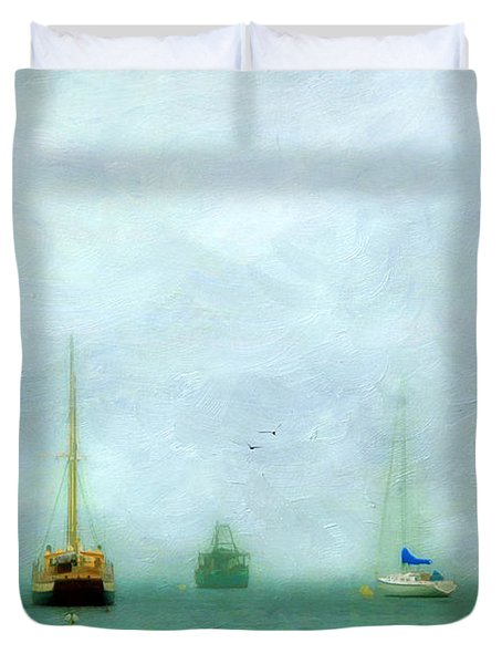 Into The Fog Duvet Cover by Darren Fisher