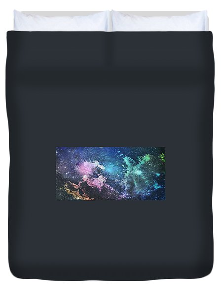 Into The Great Wide Open Duvet Cover by Kimberly  W