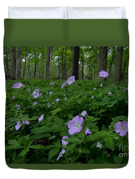 Into The Woods Duvet Cover by Tim Good