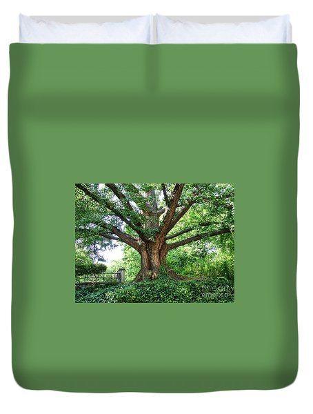 Inwood Ginkgo  Duvet Cover