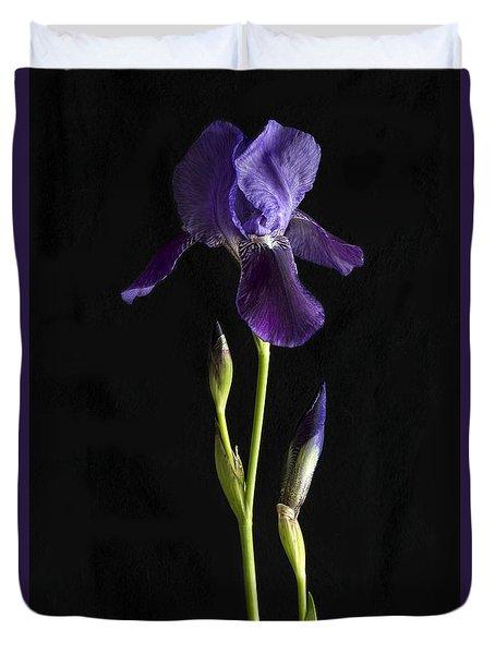 Iris Duvet Cover by Elena Nosyreva