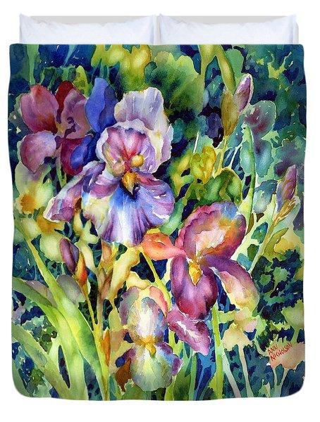 Iris II Duvet Cover