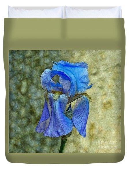 Iris Duvet Cover by Suzanne Handel
