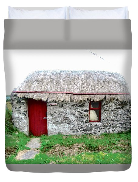 Irish Cottage Duvet Cover by Stephanie Moore