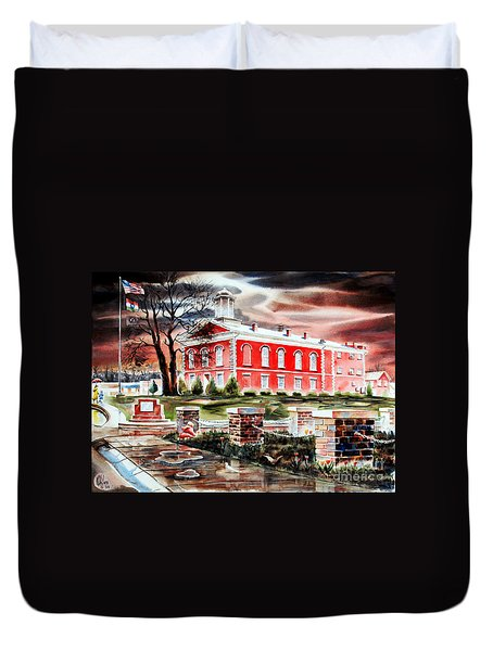Iron County Courthouse II Duvet Cover by Kip DeVore