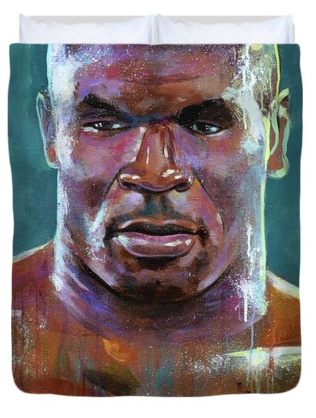 Iron Mike Duvet Cover by Robert Phelps