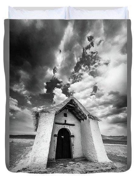 Isluga Church Duvet Cover