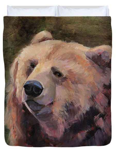 It's Good To Be A Bear Duvet Cover