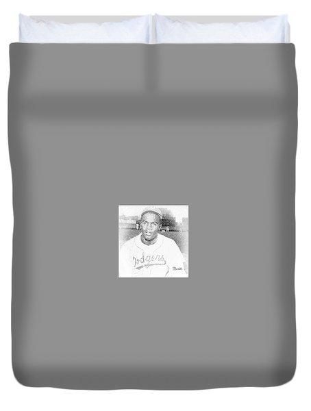 Jackie Robinson Duvet Cover