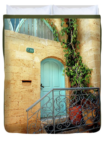 Jaffa-israel Duvet Cover