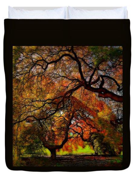 Japanese Maples 2 Duvet Cover