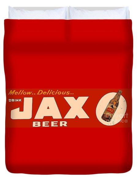 Jax Beer Of New Orleans Duvet Cover