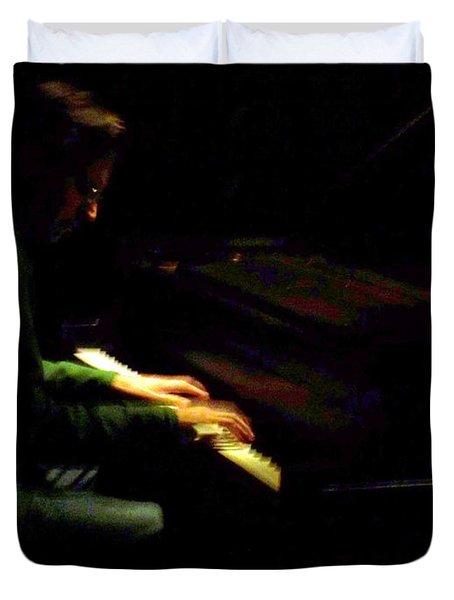Jazz Estate 7 Duvet Cover by Anita Burgermeister
