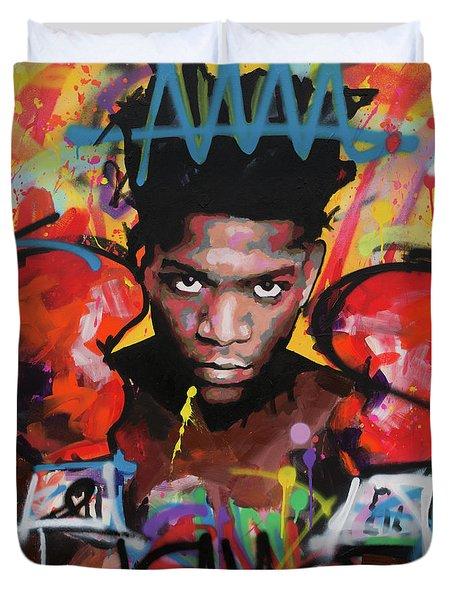Jean Michel Basquiat Duvet Cover
