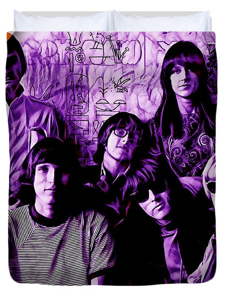 Jefferson Airplane Collection Duvet Cover