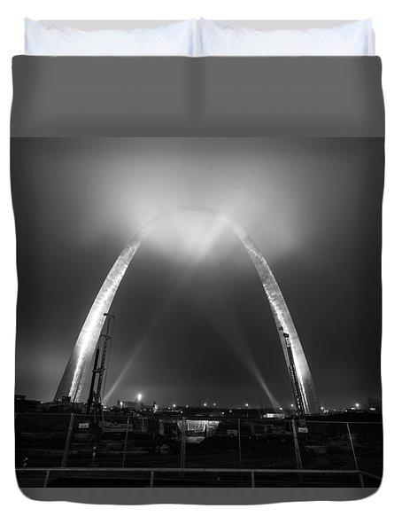 Jefferson Expansion Memorial Gateway Arch Duvet Cover