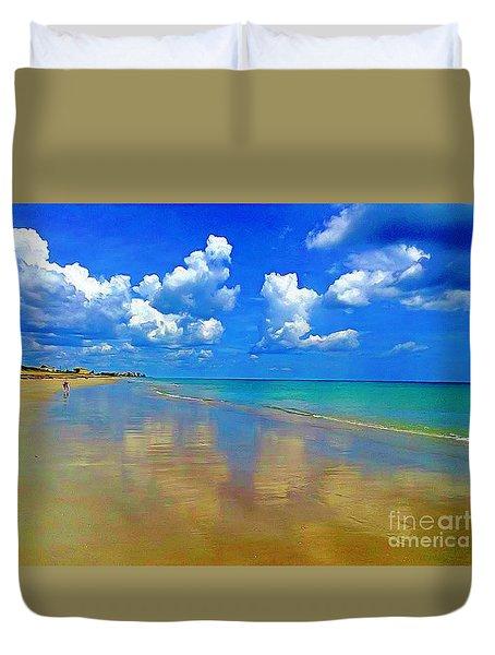Jensen Beach  Duvet Cover