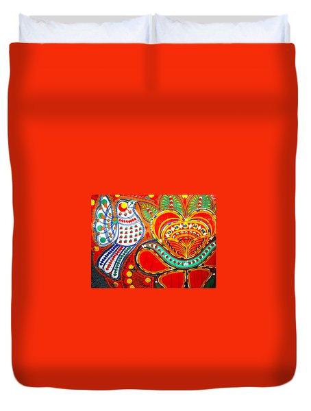Jinga Bird Duvet Cover