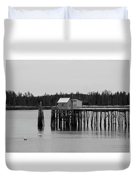 Jonesport, Maine Duvet Cover