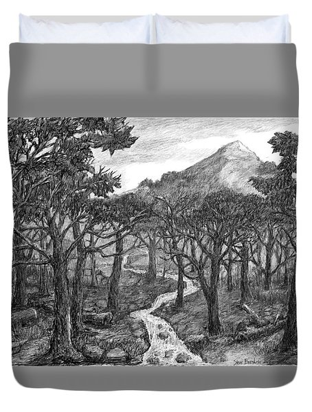 Jordan Creek Duvet Cover
