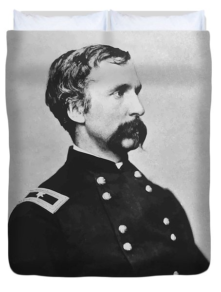 Joshua Lawrence Chamberlain  Duvet Cover by War Is Hell Store