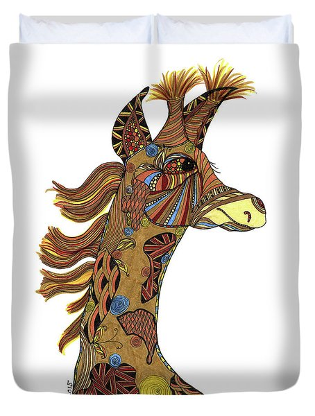 Josi Giraffe Duvet Cover