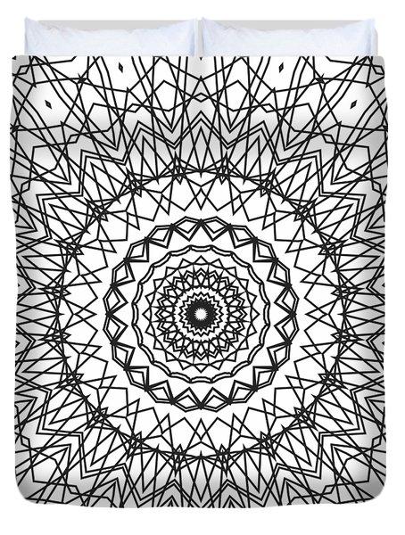 Kaleidoscope 706 Duvet Cover