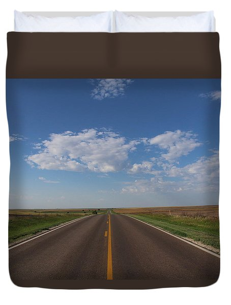Kansas Road Duvet Cover