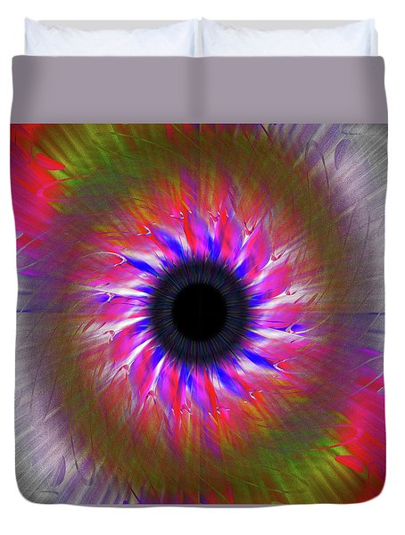 Keeping My Eye On You Duvet Cover