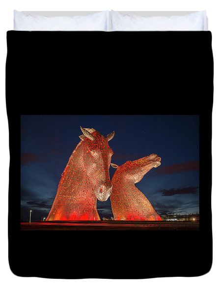 Kelpies Duvet Cover